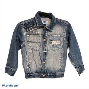 Phat Farm Jean Jacket Blue Unisex 6